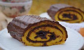 Troll a konyhámban: Sütőtökös csokis tekercs - paleo