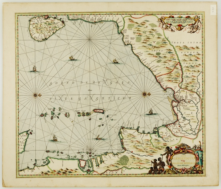 Sinus Gangeticus, vulgo Golfo de Bengala nova descriptio / Jan Jansson, [Amsterodam : J. Jansson, 1657?] Find more detailed information about this map: http://library.sl.nsw.gov.au/record=b2769820 Search the collections of the State Library of New South Wales http://www.sl.nsw.gov.au