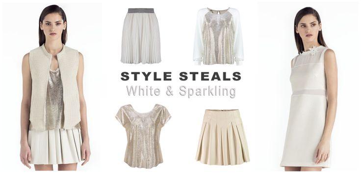 white & sparkling #shop #online #ss14