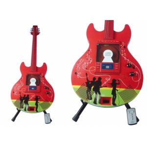 CHITARRA CD PLAYER PEOPLE ROSSA