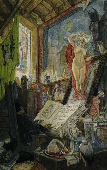 The Incantation | Félicien Rops