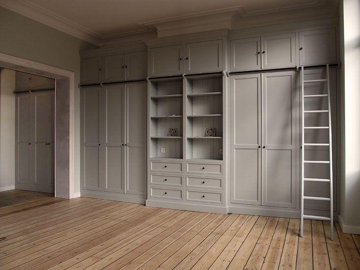 dressing sur mesure couleur mizzle de chez farrow ball design penderie dressing. Black Bedroom Furniture Sets. Home Design Ideas