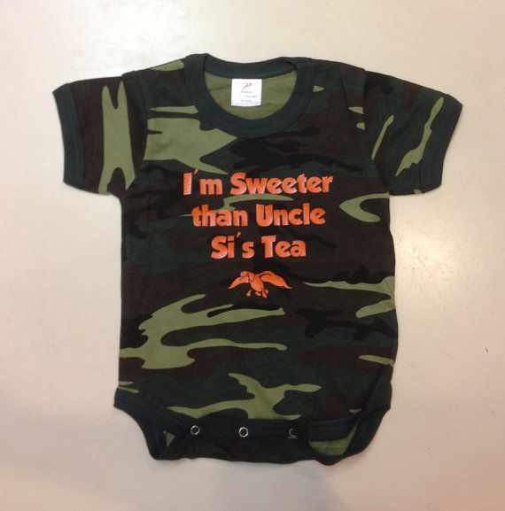 Hey, I found this really awesome Etsy listing at http://www.etsy.com/listing/153302610/duck-dynasty-baby-onesie-camo-onesie