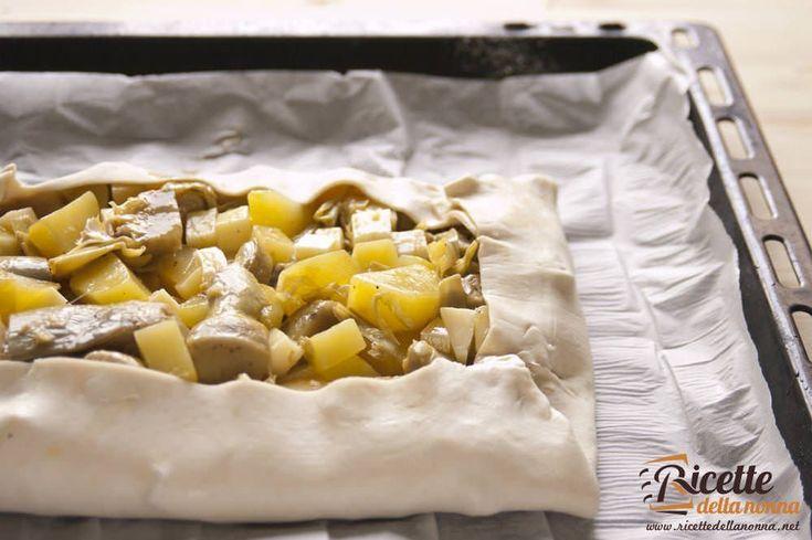 sfoglia patate carciofi asiago
