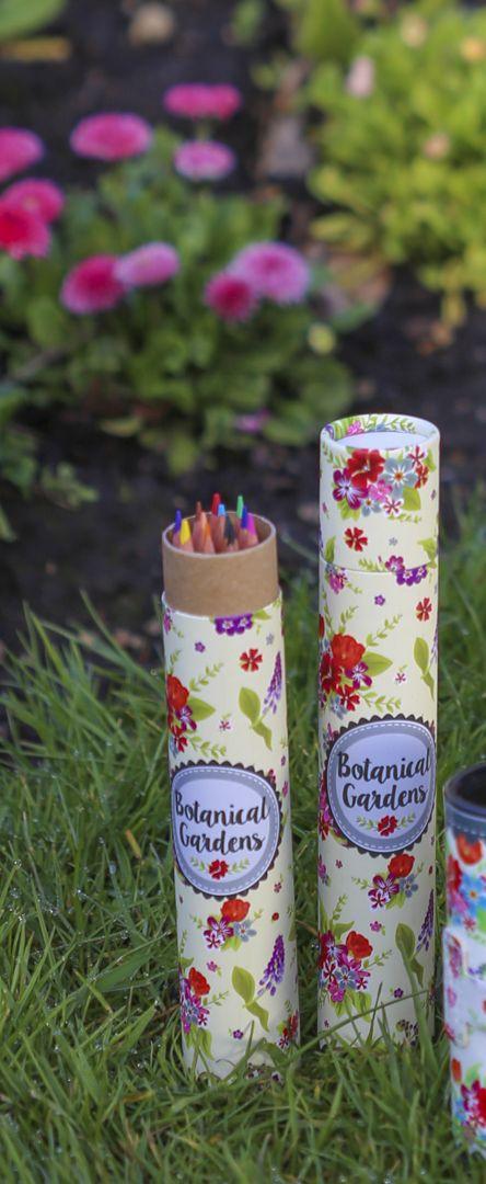 Färgpennor - Botanisk Trädgård