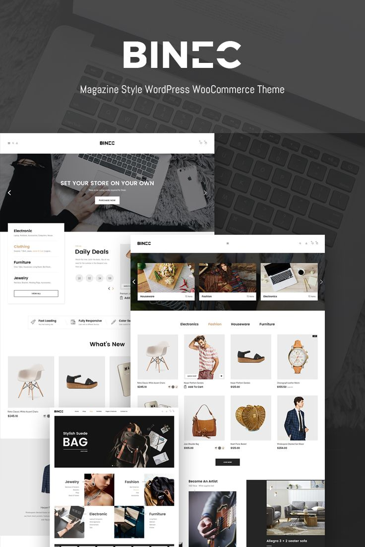 Magazine Style Online Store #WooCommerce #template. #themes #business #responsive #WooCommercethemes