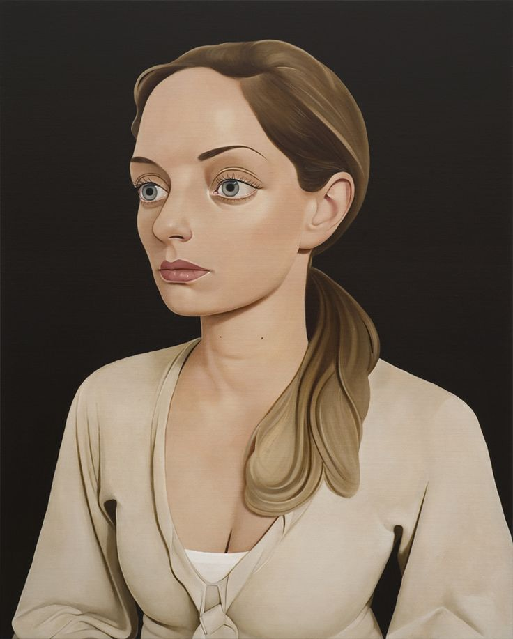 Surreal Portrait Paintings by Peter Stichbury