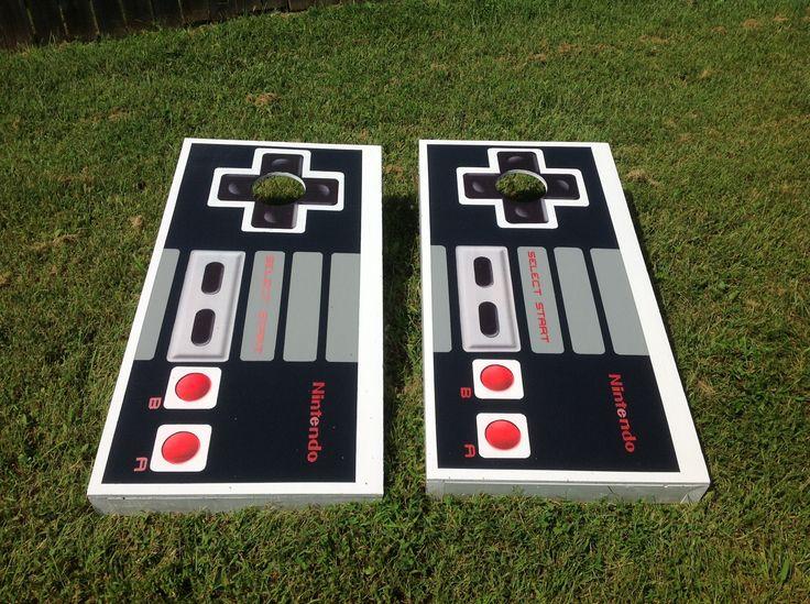 nintendo cornhole boards kog - Cornhole Design Ideas