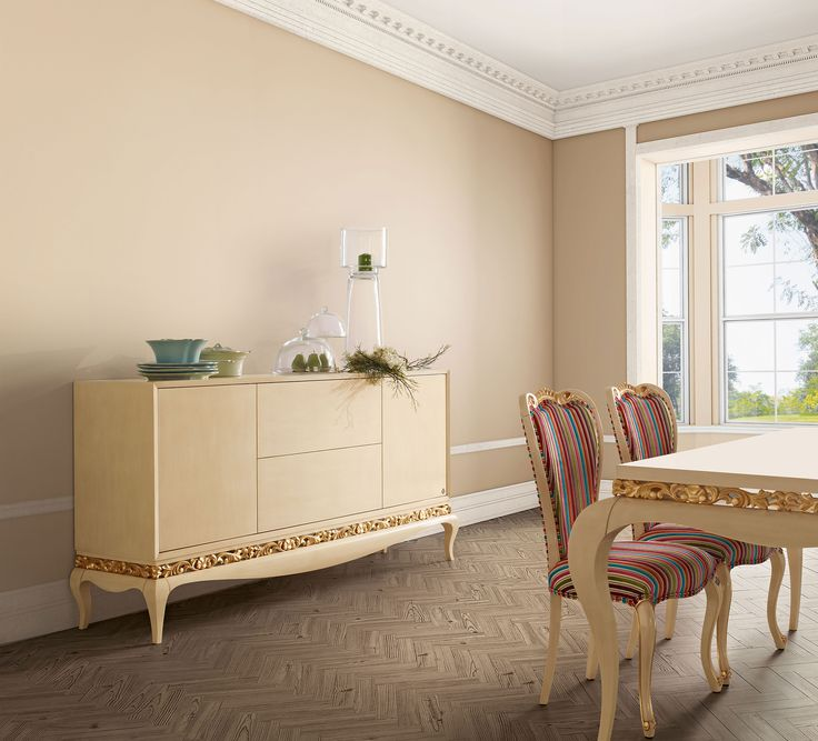 Luxus beige and gold sideboard  Jetclass | Real Furniture Luxury Interior Design