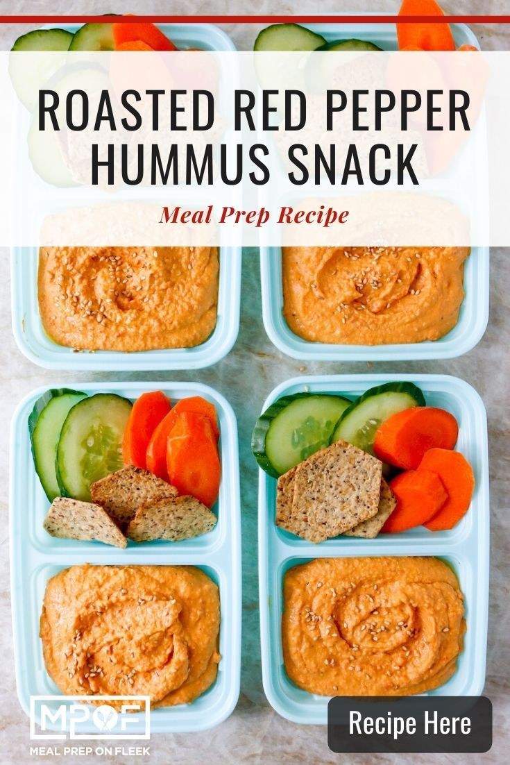 Roasted Red Pepper Hummus Snack Boxes Recipe Stuffed Peppers