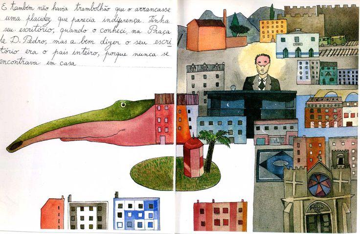 Portefólio de um viajante curioso: As viagens do Senhor Custódio, segundo Mário Botas
