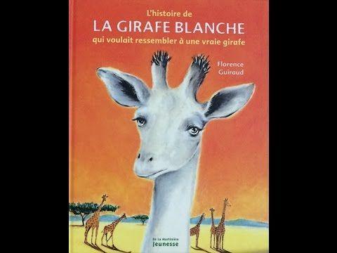 (5) [LIVRE AUDIO ENFANT] - L'histoire de la girafe blanche qui voulait ressembler à une vraie girafe - YouTube