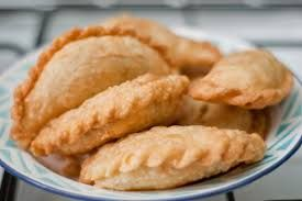 Curry puff. My mother used to make this if I'm sick. Does it help to get rid away from my sickness? NO!