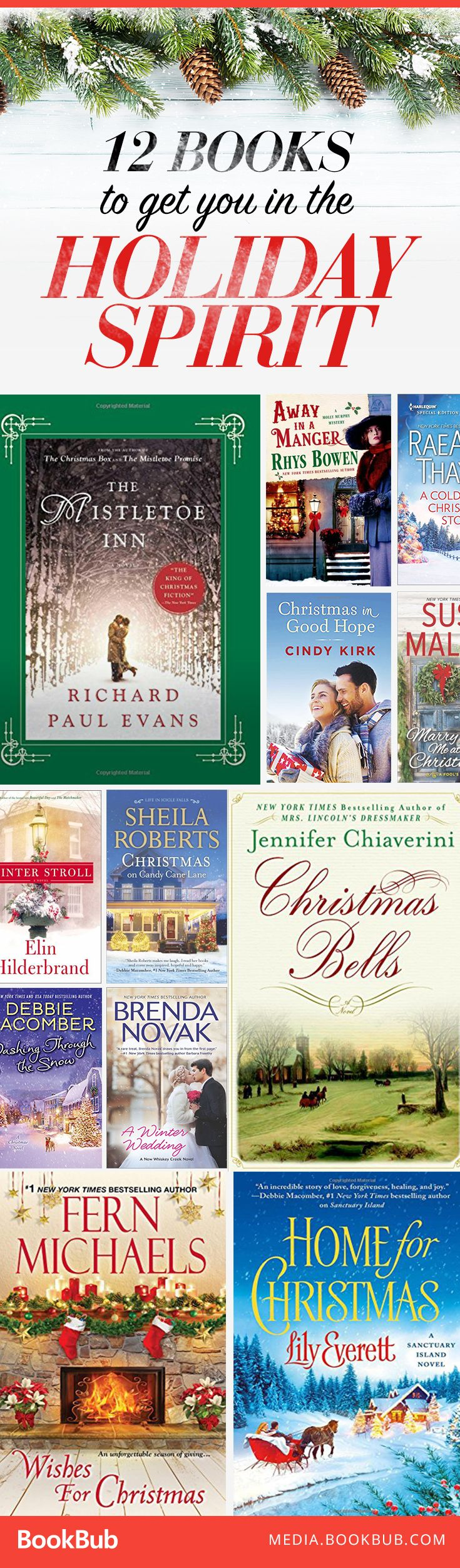 Get into the holiday spirit with these 12 new books.