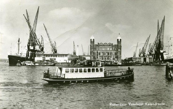 Rijnhaven Rotterdam (jaartal: 1950 tot 1960) - Foto's SERC