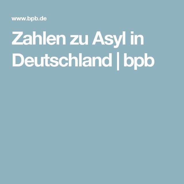 Zahlen zu Asyl in Deutschland | bpb