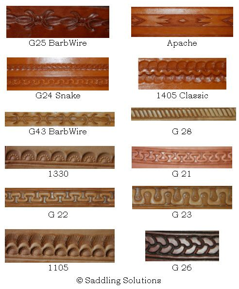Free Printable Leather Patterns | Leathercraft Pattern