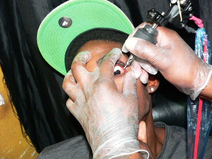 Just keep your pokey trends away from my beloved Lieutenant Stitchie, and I'll keep not giving a shit.  //// Jamaican Dancehall Artists are Blinding Themselves by Getting Eyeball Tattoos | NOISEY