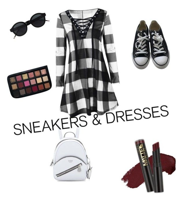 """Cute picnic outfit"" by mommysally ❤ liked on Polyvore featuring Converse and L.A. Girl"