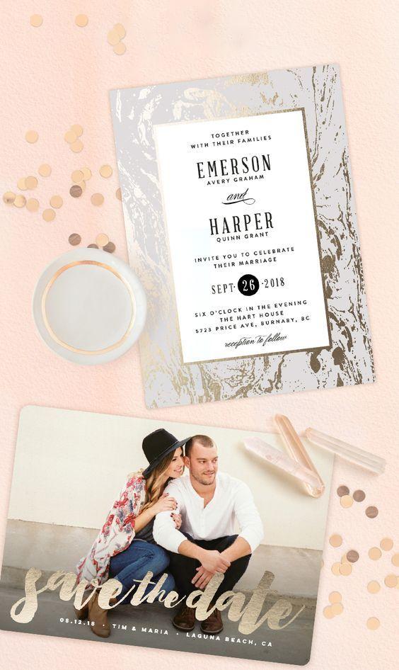 176 best Wedding Invitations images on Pinterest Wedding