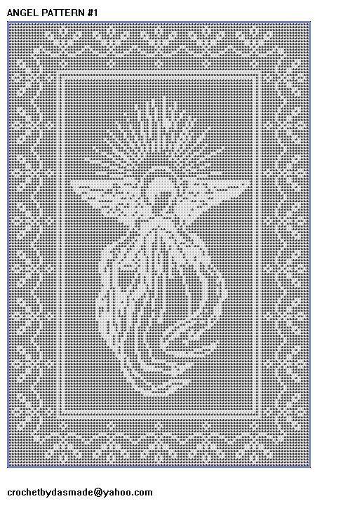 Free Filet Crochet Doily Patterns   ... Filet Crochet Doily Afghan Pattern   CROCHETBYDASMADE - Patterns on