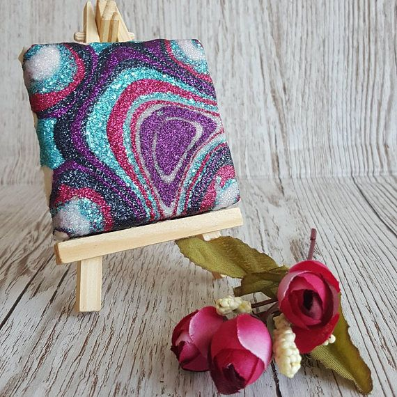 Hey, I found this really awesome Etsy listing at https://www.etsy.com/uk/listing/490141940/pink-purple-and-teal-glitter-canvas-art