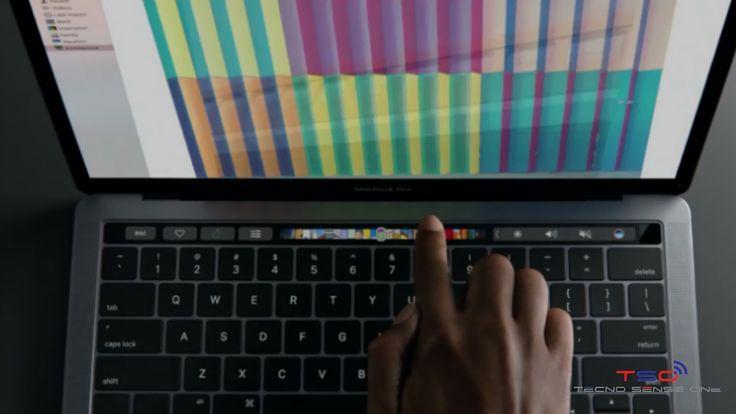 Apple presenta la nueva   MacBook Pro con pantalla secundaria         He aquí la nueva MacBook Pro, si bien el diseño se mantiene veremos ...