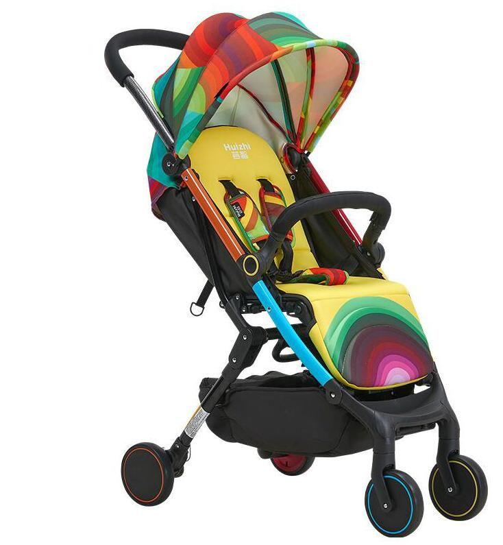 2016 Promotion Baby Stroller 0-3 Years Old Baby Light Folding Stroller Summer Suspension Child Wheelbarrow Four Wheel Sleeping