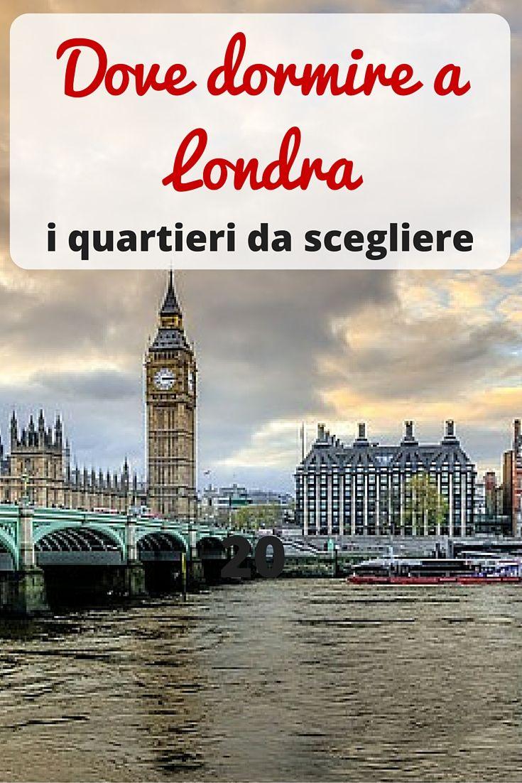 Non sai dove alloggiare a #Londra? Te lo diciamo noi...