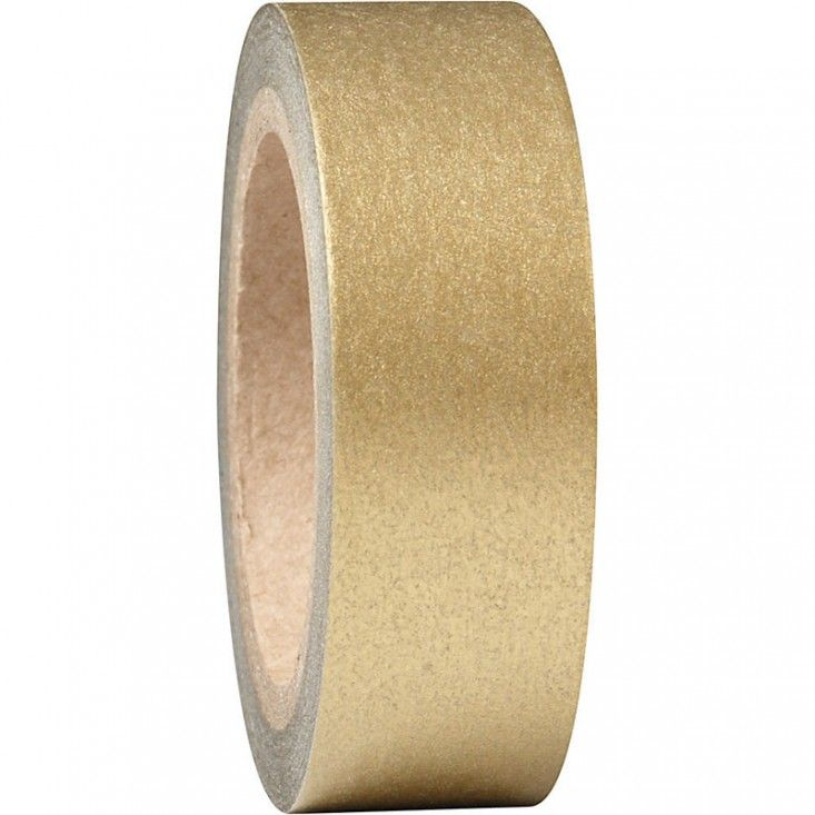 Shimmery Gold Washi Tape: Remodelista