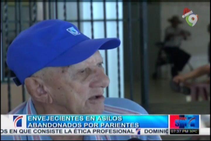 Envejecientes En Asilos Abandonados Por Parientes #Video