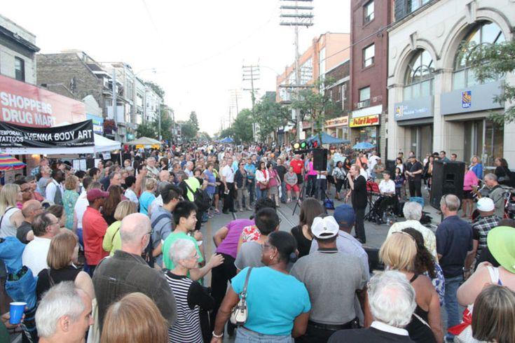 StreetFest on Queen Street. COURTESY: Beaches International Jazz Festival
