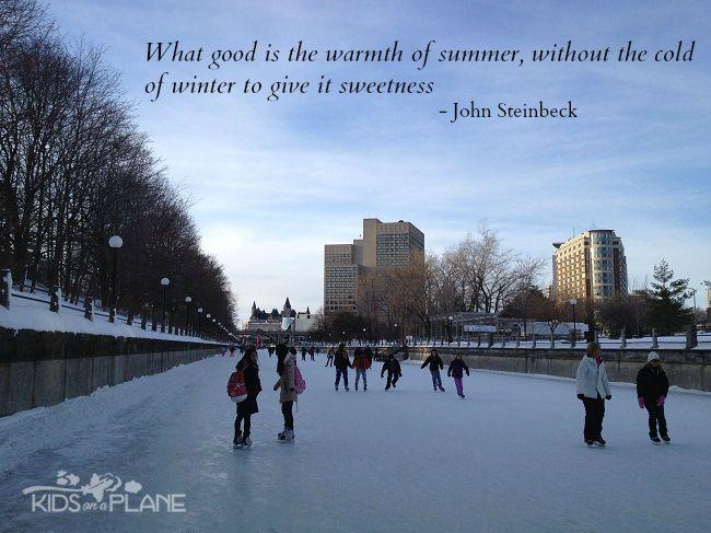 Winterlude 2014 Moments Rideau Canal | KidsOnAPlane.com #Winterlude #Ottawa