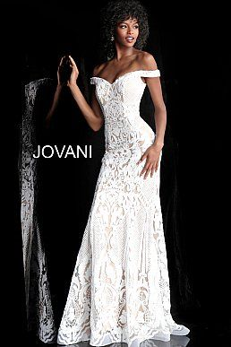 eb013f551d93 Off White Sweetheart Neckline Embellished Prom Dress 64277 in 2019 ...
