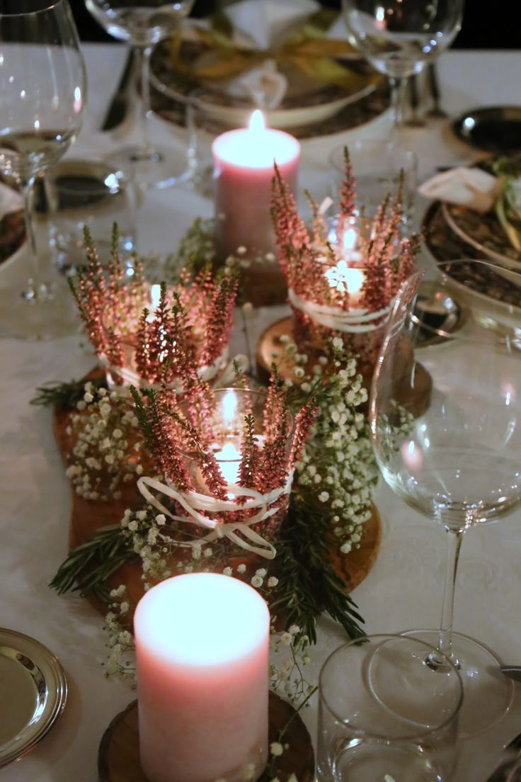Tischdekoration, Tutorial für den schön gedeckten Tisch