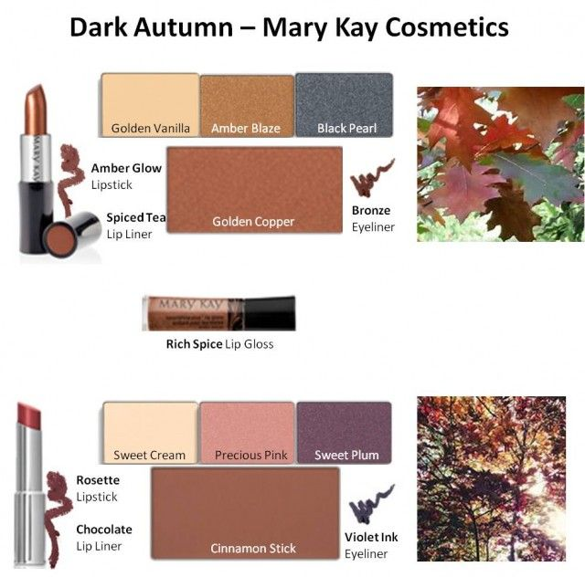 Mary Kay Colors for Dark Autumn #1 & #2