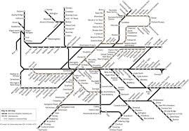 Manchester Bus and Tram Map