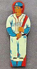 1930's BASEBALL BATTER figural Japanese pre-war tin litho whistle full color