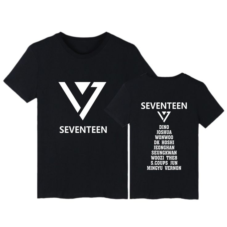 >> Click to Buy << Summer Kpop Seventeen T Shirt with Short Sleeve Fashion Cotton T-Shirt Seventeen tshirt for Young teen Plus Size tee Clothing #Affiliate