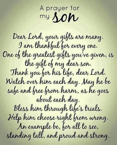 Dear God, ESPECIALLY because I've been alienated from my sons, I beg You please keep them from harm and help them to learn right from wrong as they grow more mature and can hopefully recognize the damaging behavior of their father in order to know deep in their hearts that I have and will ALWAYS love them with my entire heart and soul.