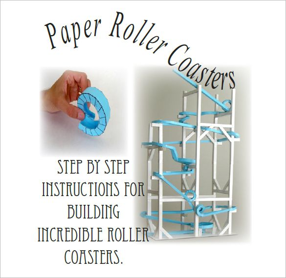 7+ Paper Roller Coaster Templates - Free Word, PDF Documents Download! | Free & Premium Templates