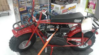 OldMotoDude: Coleman CT200 Minibike spotted for sale at the loc...