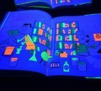 Über das Mysterium Schwarzlicht Farbe- Party, Geschichte und mehr