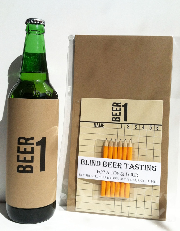 Blind Beer Tasting Kit By Haydenporter On Etsy Products