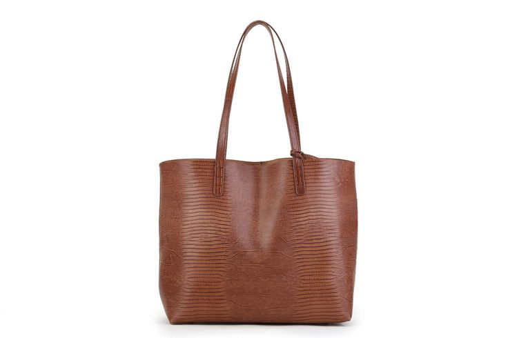 Genuine Baggage - Brown Leather Women's Tote Bag / Pink Corporation / Stefanie, $149.95 (http://www.genuinebaggage.com.au/brown-leather-womens-tote-bag-pink-corporation-stefanie/)