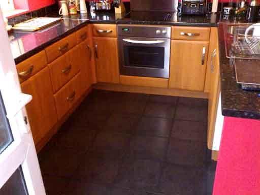 Dark Tile Floor Kitchen 38 best kitchen - grey floor images on pinterest   kitchen floor