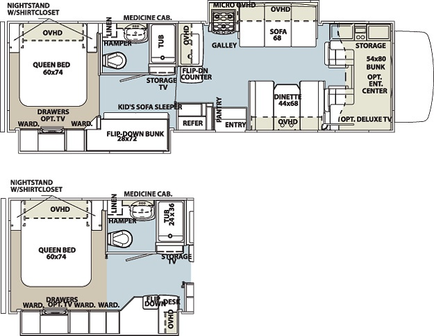 1000 Images About Cool Rv Layouts On Pinterest Cool