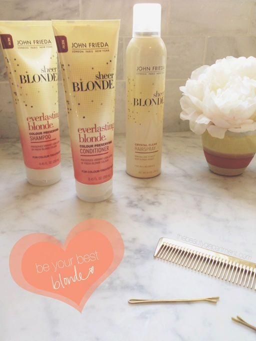 Our must-have tools for blondes from @John Searles Frieda US and their Destination Blonde! #myblondelife