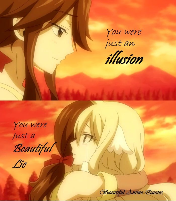 Just a Beautiful Lie..Fairy Tail