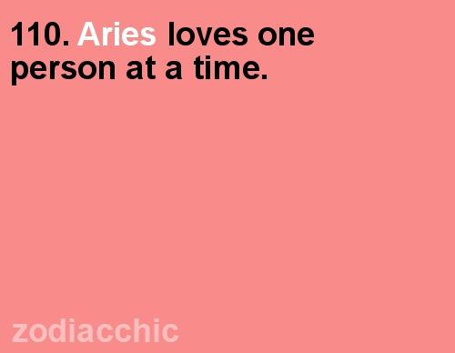 Aries fact from ZodiacChic. - well... Aries women do, but not aries men